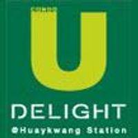 logo โครงการ ยู ดีไลท์ แอท ห้วยขวาง สเตชั่น