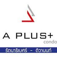logo โครงการ เอ พลัส คอนโด รัตนาธิเบศร์ - ติวานนท์