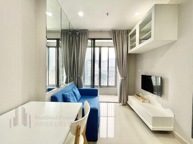 รูป ให้เช่า/For Rent 1 ห้องนอน ห้องสวย เฟอร์ครบ ราคา 16,000/เดือนเท่านั้น คอนโด IDEO MOBI RAMA 9 ใกล้MRT และ เซ็นทรัลพระราม 9 - รูปที่ 2/14